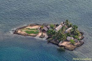 Mille et une photos du Panama, à Kuna Yala, des îles San Blas vues du ciel