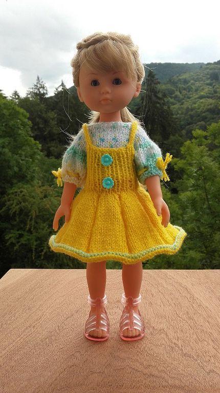 Défilé de la robe chasuble ....,  Merci Anne marie , ...59 !!