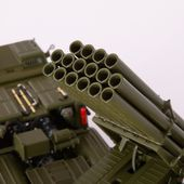 "SSM5004 MLRS BM-27 ""Uragan"" on ZIL-135LM 8×8 chassis /khaki/"