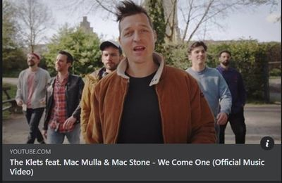 """🎵 New Video - THE KLETS feat. Mac Mulla & Mac Stone """"We Come One"""""""
