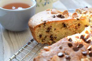Gâteau au mascarpone amandes et chocolat