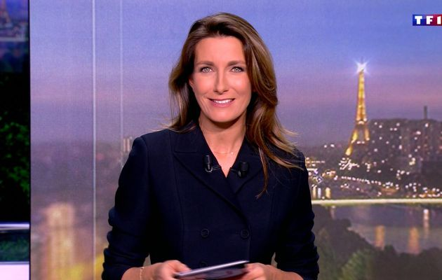 📸10 ANNE-CLAIRE COUDRAY @ACCoudray @TF1 @TF1LeJT ce soir pour LE FLASH #vuesalatele