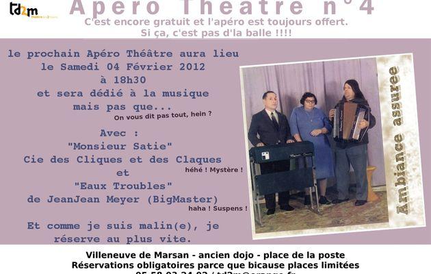 Apéro Théâtre n°4
