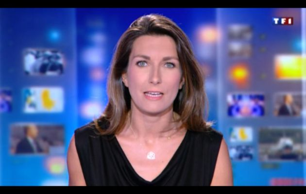 [2012 08 10] ANNE-CLAIRE COUDRAY - TF1 - LE 20H @20H00