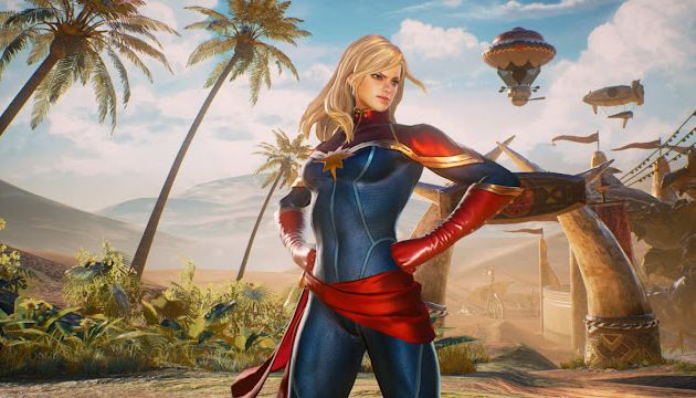 Did You See the New Look of Captain Marvel (Game Version)?