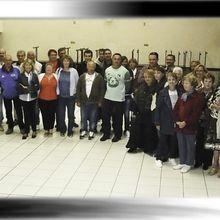 St André les Alpes , remerciement du Maire aux associations locales pour les animations 2010