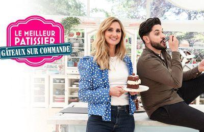 """Mélanie de la saison 5 et Clément de la saison 6 s'affrontent dans """"Le meilleur pâtissier : Gâteaux sur commande"""" ce soir sur M6"""