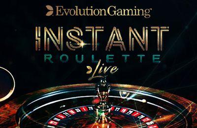 Instant Roulette : une nouvelle variante de roulette live du développeur Evolution Gaming