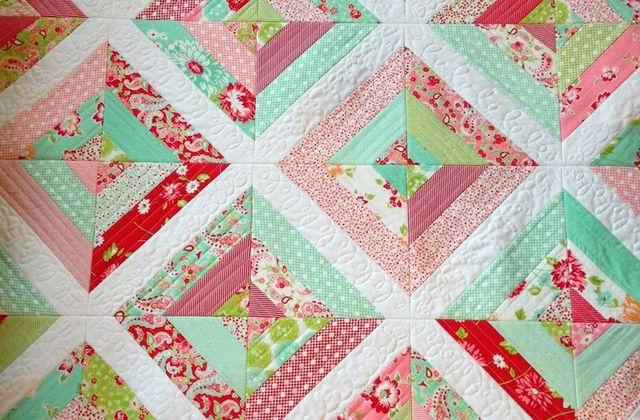 « Quilt as you go » ou comment débuter facilement le patchwork moderne