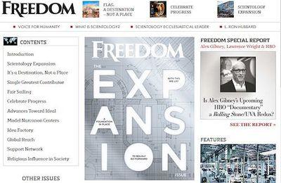 Sonderausgabe des Magazins FREEDOM gibt Überblick über Scientology