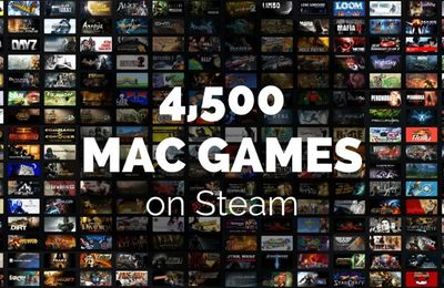 Apple pc Gaming Gets a Rest - Steam Coming to the Apple pc