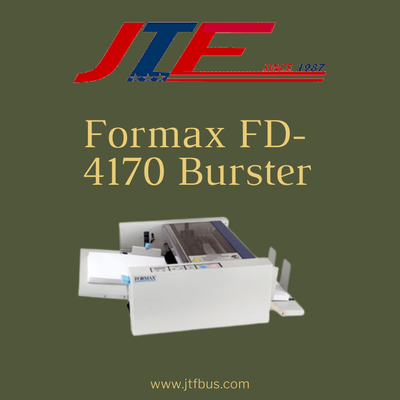 Formax FD-4170 Burster- Profitable Your Business