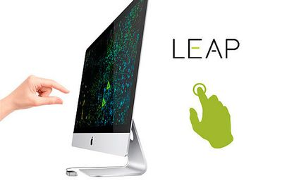 The Leap Motion Controller !  Welcome to an amazing new world and things you can do with your hands