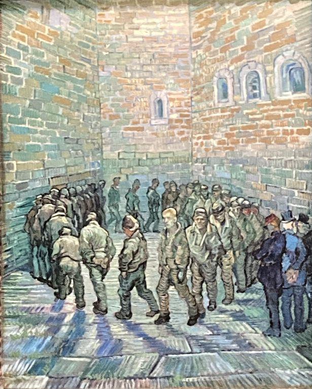 Pissaro, Sisley, Toulouse Lautrec, Van Gogh : ronde des prisonniers, Vlaminck, Manet