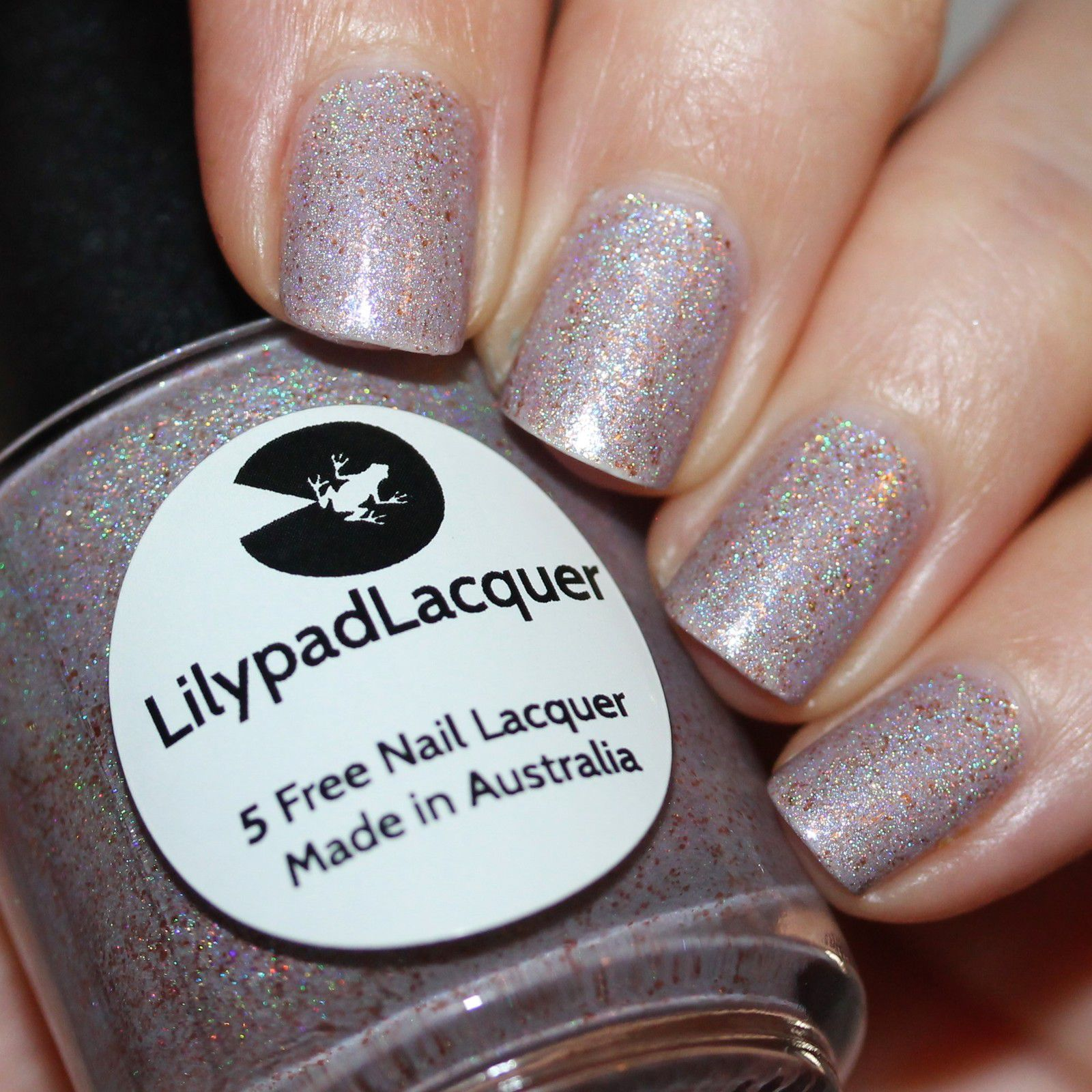 Lilypad Lacquer First Base / Lilypad lacquer Luminous / Lilypad Lacquer Crystal Clear Top Coat