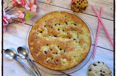 Moelleux à la vanille et aux cookies