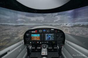 ELITE DA42 FNPT II simulator
