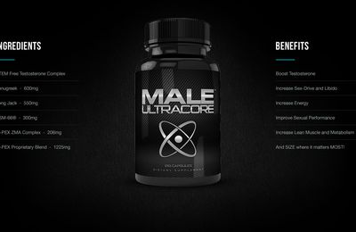 Male UltraCore - Gives You More Energy Every Day