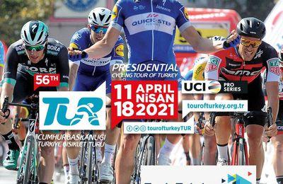 Tour de Turquie : Sur quelle chaîne suivre la course ce lundi ?