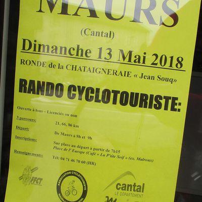"""Ronde de la Châtaigneraie """"Jean Souq"""" à Maurs"""