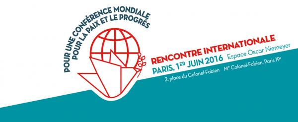 1er juin • Rencontre internationale Un autre monde est (toujours !) possible
