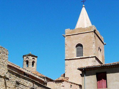 Le village de Quarante dans l'Hérault