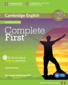 Ebook formato txt descargar COMPLETE FIRST