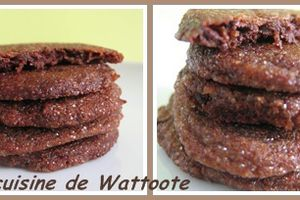 Cookies chocolat et gingembre