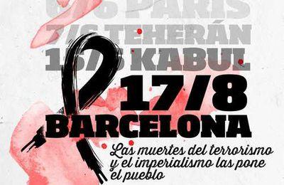 Communiqué conjoint duParti Communiste d'Espagne et de l'Union des Jeunesses Communistes sur l'attentat terroriste à Barcelone