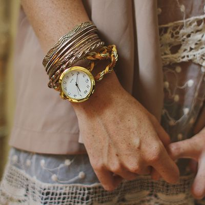 Bracelet de montre wrap DIY