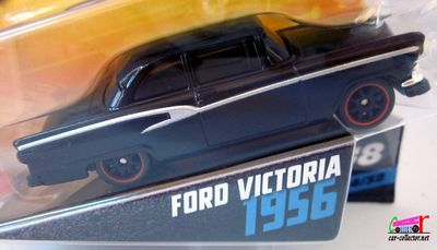 FORD VICTORIA 1956 FAST AND FURIOUS 8 HOT WHEELS 1/55.