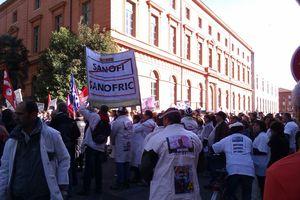 Contre congrès du PS : manifestation à Toulouse.