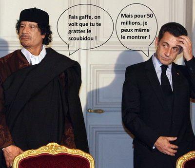Sarkozy - Kadhafi : une histoire d'amour qui s'est terminée par une rupture sentimentale !