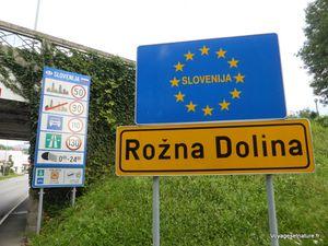 En route vers la Slovénie