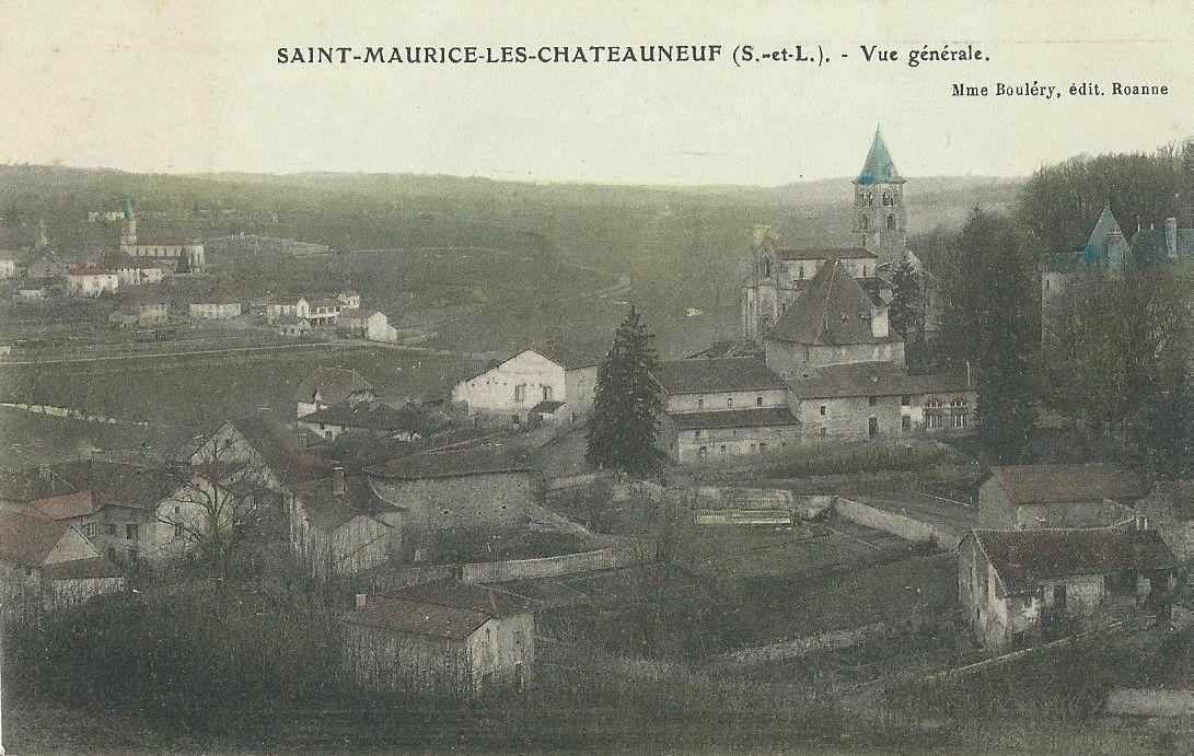 Saint-Maurice-les-Châteauneuf (Saône-et-Loire).
