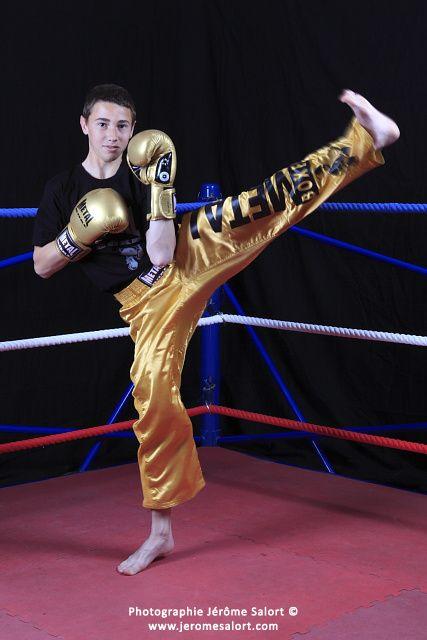 Shooting au boxing club Muret avec le champion d'Europe Bertrand Fleuret et le champion du monde Jean-Luc Benoit.