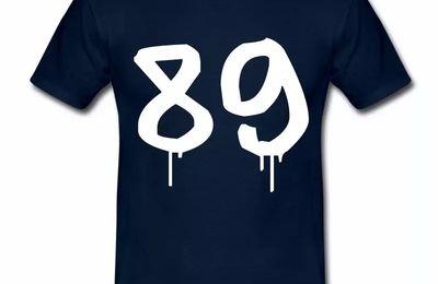 T Shirt Bourgogne Département 89 Design HBM