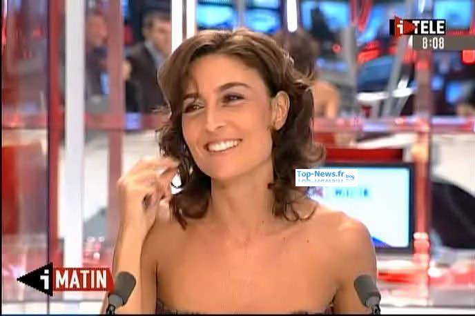 Nathalie Ianetta en 2009. Divers caps sur I-Télé