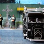 FASCICULE N°22 CITROEN TYPE H 1953 FOURGON MORTUAIRE ELIGOR 1/43 - car-collector.net