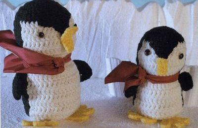 Tutoriel au crochet - Pingouin