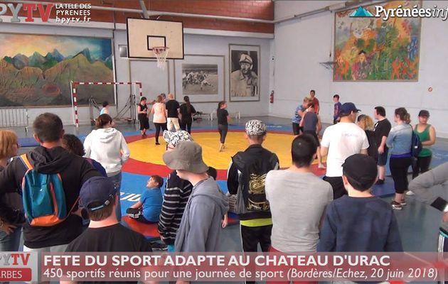 Fête du Sport Adapté à Bordères (20 juin 18) | HPyTv La Télé de Tarbes