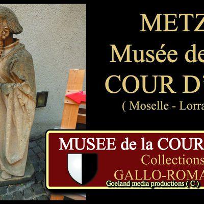 METZ, A la découverte duMUSEE de la COUR D'OR  ( Moselle – Lorraine ) - ANTIQUITE