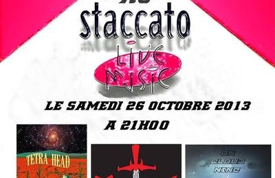 On Cloud Nine au Staccato (nice) le 26/10/2013