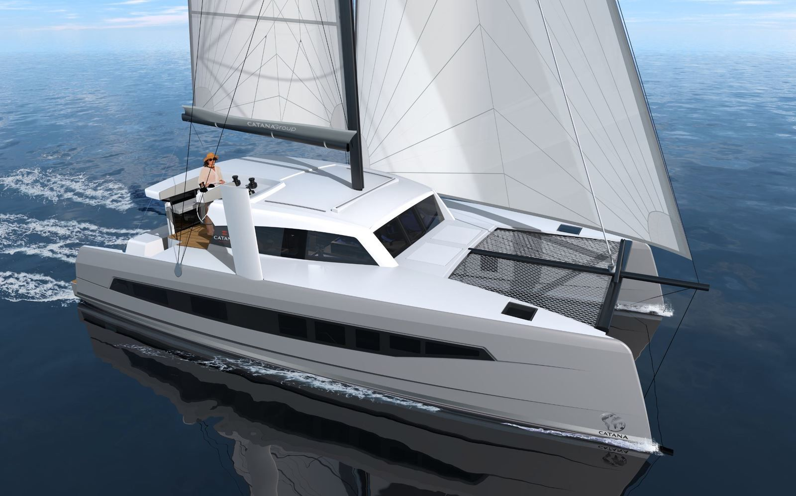 Catana Ocean Class - grand voyage et hautes performances... en mode Open !!