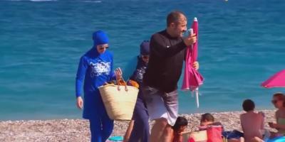 Femme en burkini chassée d'une plage à Villeneuve-Loubet, un coup monté ?