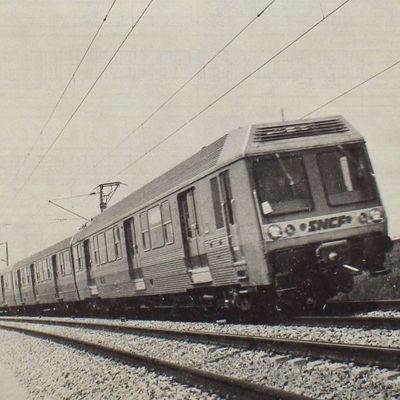 Les automotrices Z6400
