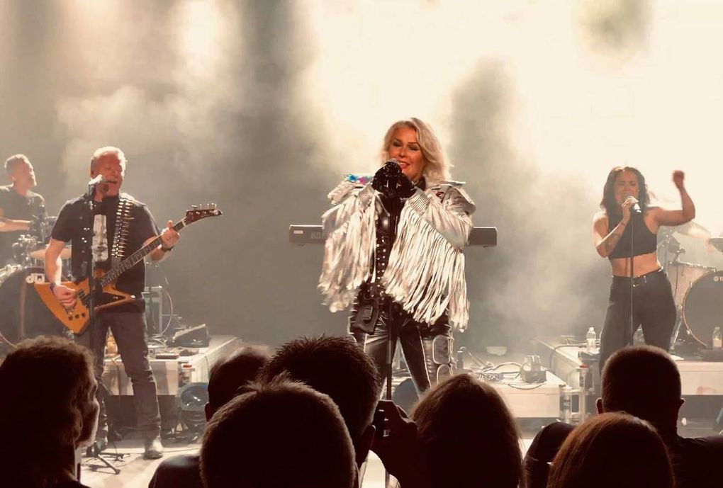 Kim Wilde Live au Danemark le week-end dernier