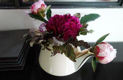 Création florale vintage...