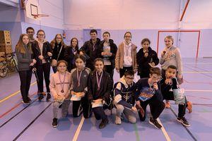 Arbitrage badminton, du monde en cours de formation