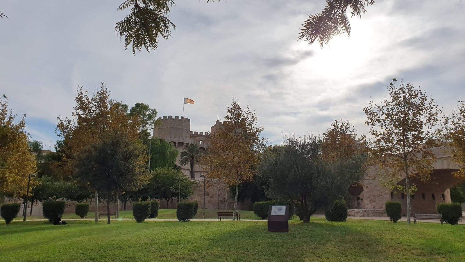 Puçol, le Turia à Valence Espagne